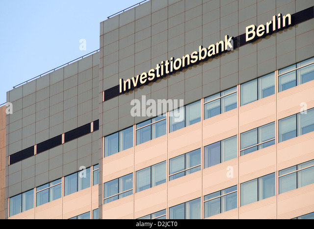 investment bank berlin stock photos investment bank berlin stock images alamy. Black Bedroom Furniture Sets. Home Design Ideas