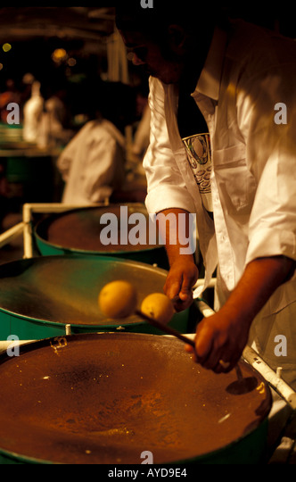 Trinidad Caribbean steel drum band playing calypso music - Stock Image
