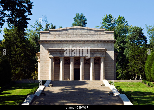 Abraham Lincoln Birthplace National Historic Park in LaRue County, Kentucky - Stock Image