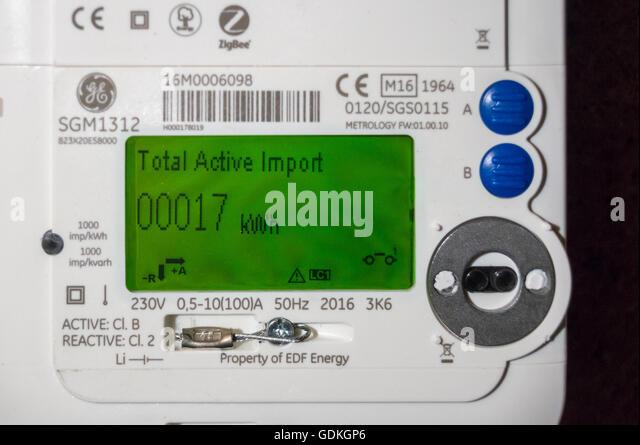 Ge Meter Reader : Amp england stock photos images alamy