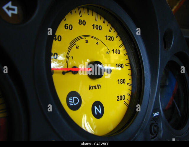 Speedometer - Stock Image
