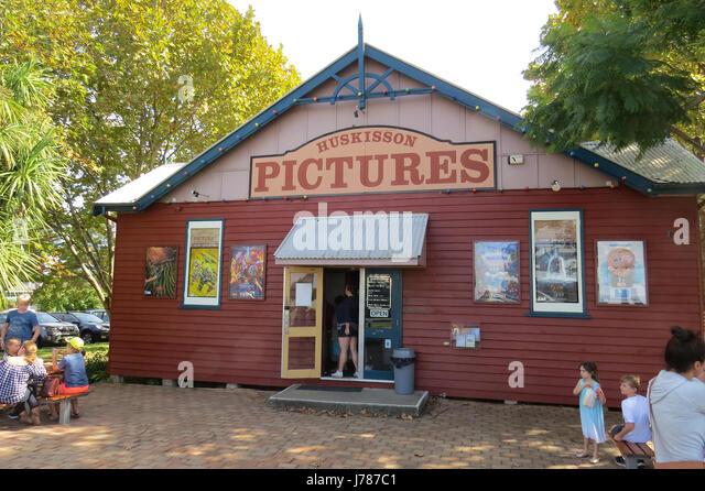 HUSKISSON, New South Wales, Australia. Local cinema. Photo: Tony Gale - Stock-Bilder