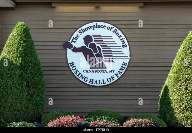 International Boxing Hall of Fame, Canastota, New York, USA - Stock Image