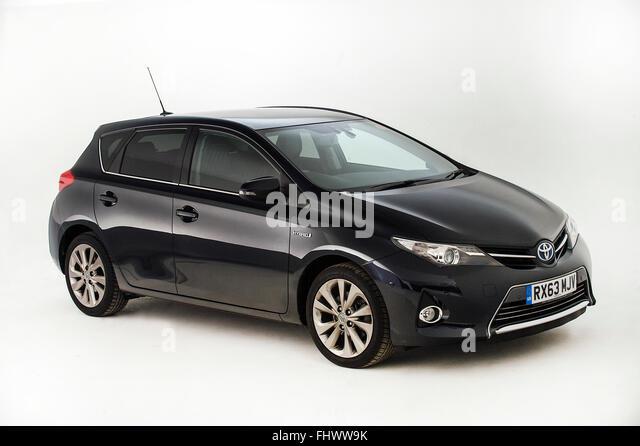 2013 Toyota Auris Hybrid - Stock Image