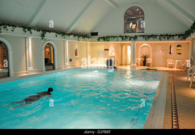 Indoor Swimming Pool Uk Stock Photos Indoor Swimming