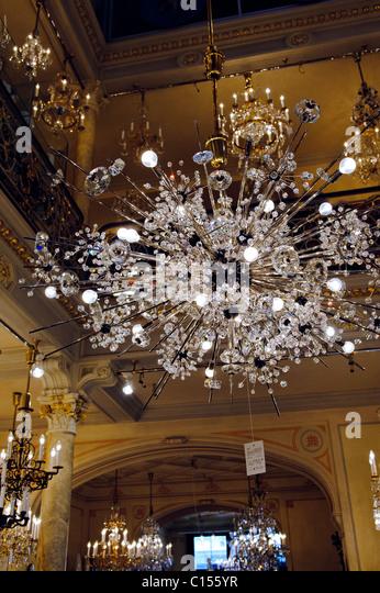 J.&L. Lobmeyr shop in Vienna, Austria. - Stock-Bilder