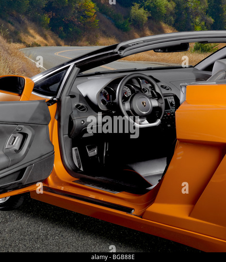 2014 Lamborghini Aventador Interior: Lamborghini Interior Stock Photos & Lamborghini Interior