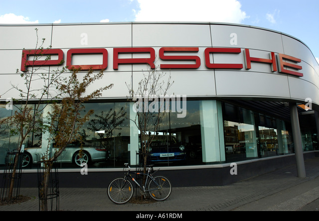 porsche dealer stock photos porsche dealer stock images. Black Bedroom Furniture Sets. Home Design Ideas