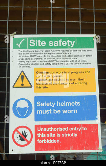 Construction regulations stock photos construction for Construction rules and regulations
