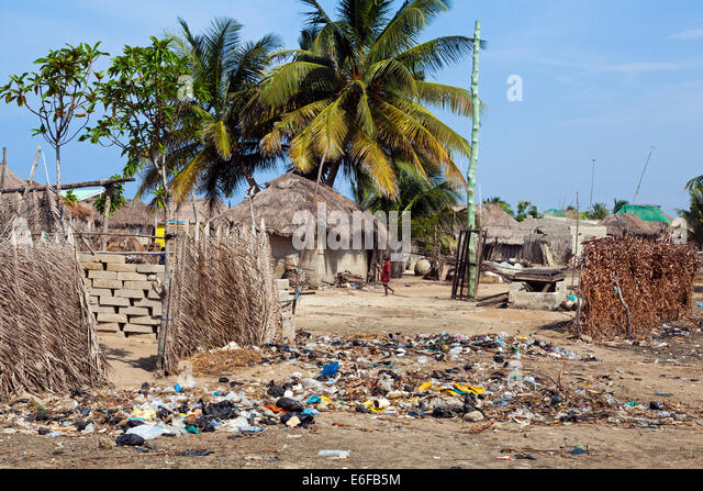 Rubbish Tip And House Stock Photos Amp Rubbish Tip And House