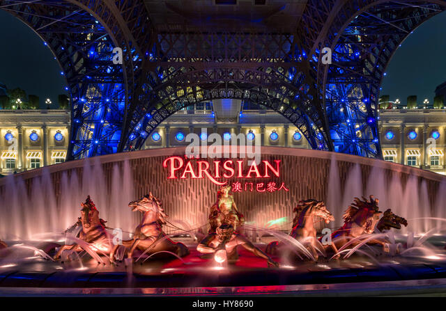 The Parisian, Macau, China - Stock Image