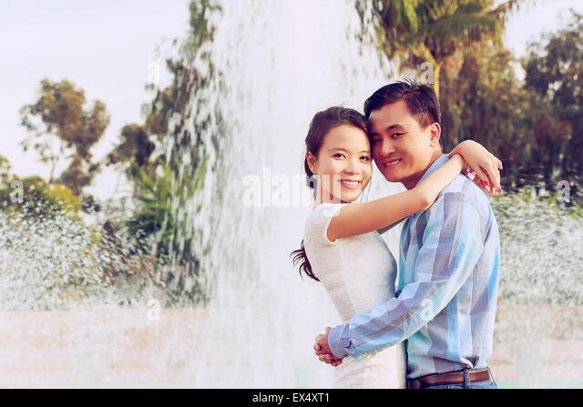Happy Young Couple - Stock-Bilder