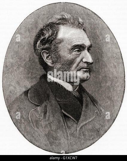 General Sir James Hope Grant, 1808 –  1875. British general. - Stock Image