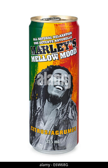 Marley's Mellow Mood Citrus Drink - Stock Image