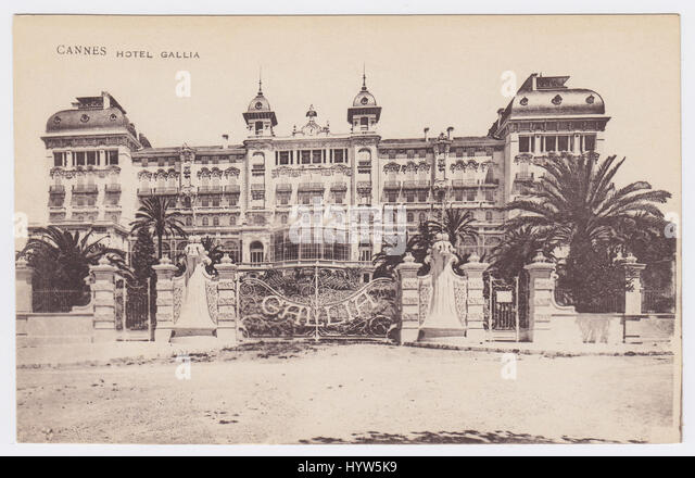 Hotel Gallia, Cannes, France - Stock Image