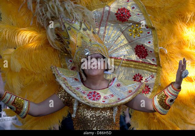 Berlin, Germany. 19th May 2013. Karneval der Kulturen - Annual Carnival and street party in Germany's Capital - Stock-Bilder