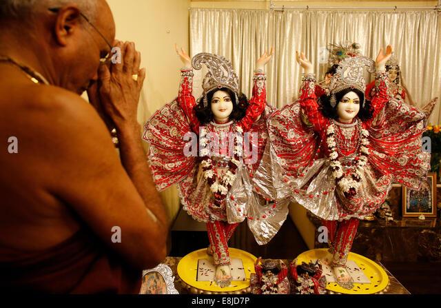 Gita Jayanta celebration - Stock Image