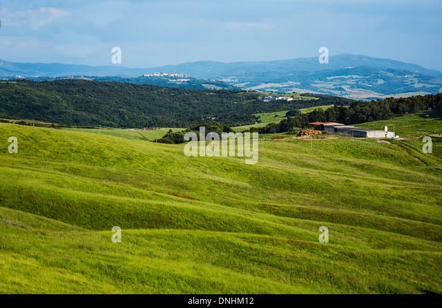Landscape, Volterra, Province of Pisa, Tuscany, Italy - Stock-Bilder
