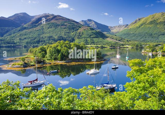 Bishops Bay, Loch Leven, Highland, Scotland, UK. - Stock Image
