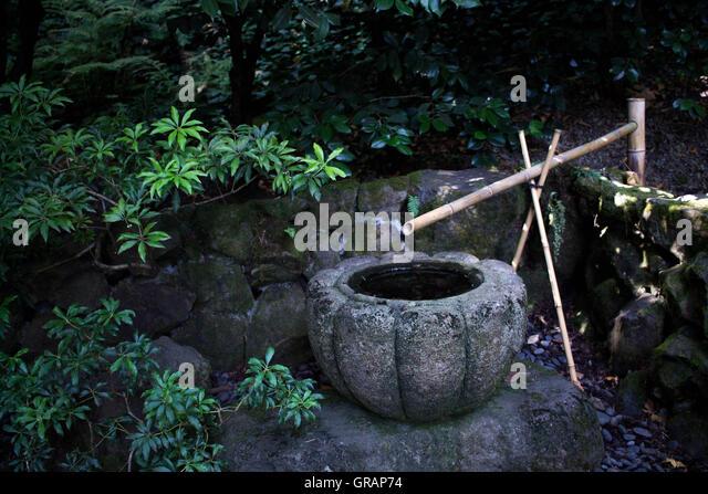 Japanese Bamboo Fountain Stock Photos Amp Japanese Bamboo.