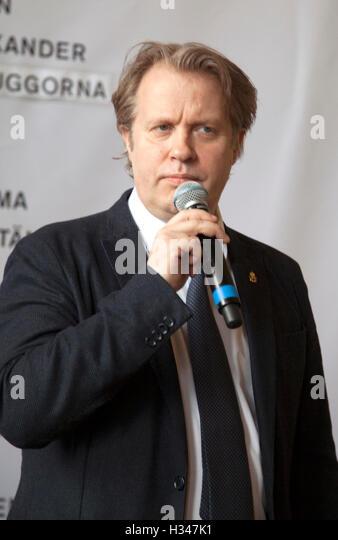 EIRIK STUBÖ Norwegian Director and theater manager Dramaten Stockholm - Stock Image
