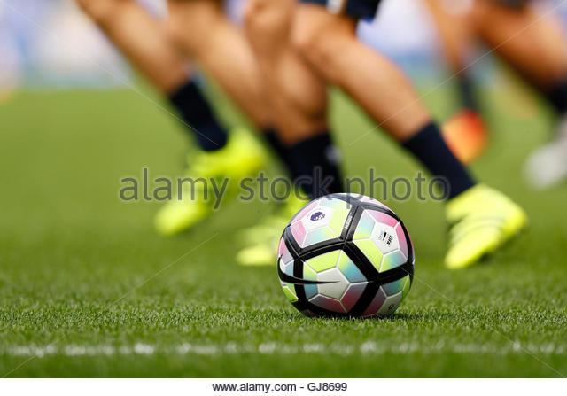 Britain Football Soccer - Everton v Tottenham Hotspur - Premier League - Goodison Park - 13/8/16  General view of - Stock-Bilder