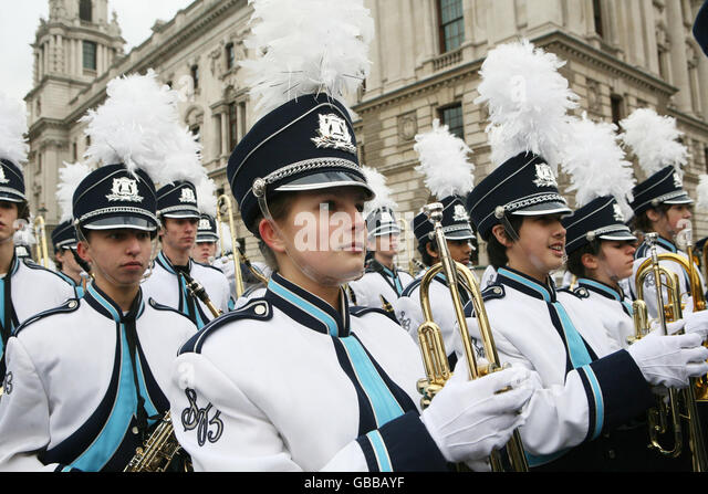 New Year's Day Parade - Stock Image