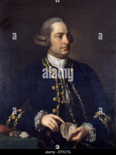 Gustavus Brander (1720-1787) - Stock Image