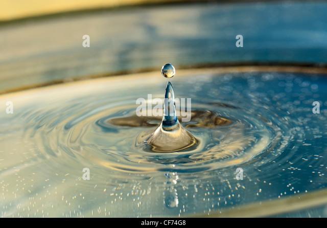 Frozen Time. Drop - Stock-Bilder