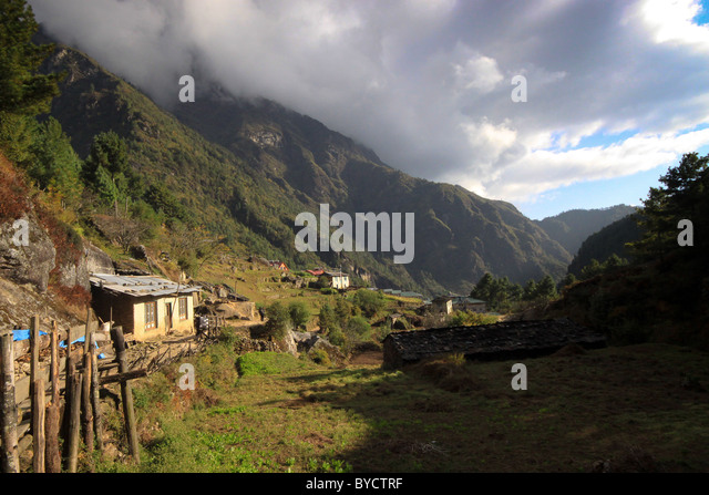 Sights and views, Everest Base Camp Trail, Nepal, Asia - Stock-Bilder
