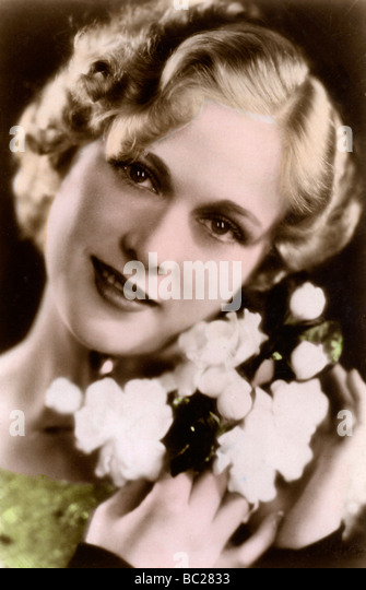 Esther Ralston (1902-1994), American actress, 20th century. - Stock Image