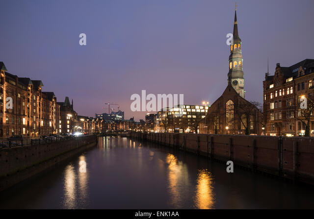 Hafencity, Hamburg, Germany, Europe - Stock Image