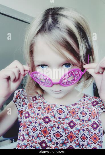 Quirky glasses - Stock-Bilder