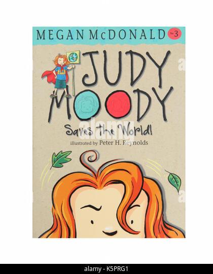The book, Judy Moody saves the World by Megan McDonald. - Stock Image