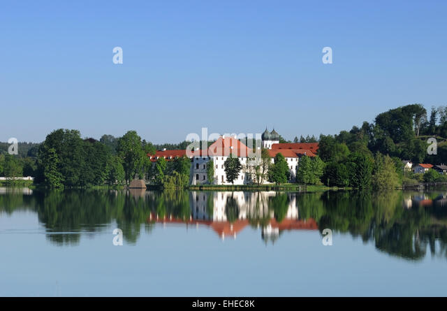 Seeon abbey - Stock Image