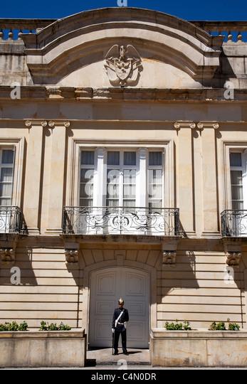 Presidential palace Bogota - Stock Image
