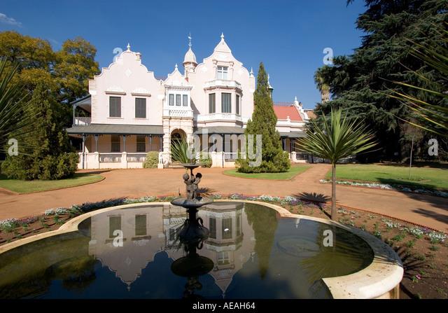 Pretoria Melrose house - Stock Image