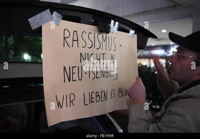 Neu-Isenburg Germany  City new picture : Neu Isenburg, Germany. 7th Jan, 2016. Around 100 people take part in a ...