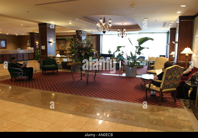 Alabama Huntsville Marriott Hotel - Stock Image