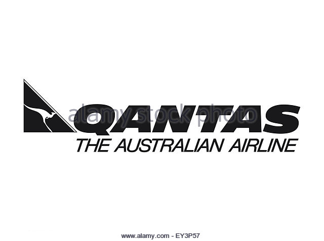 Qantas Logo Cut Out Stock Images Pictures Alamy