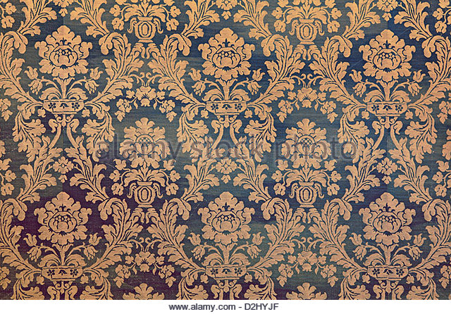 vintage wallpaper - Stock Image