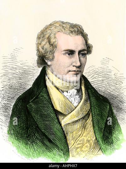 Benjamin Thompson Count Rumford - Stock Image