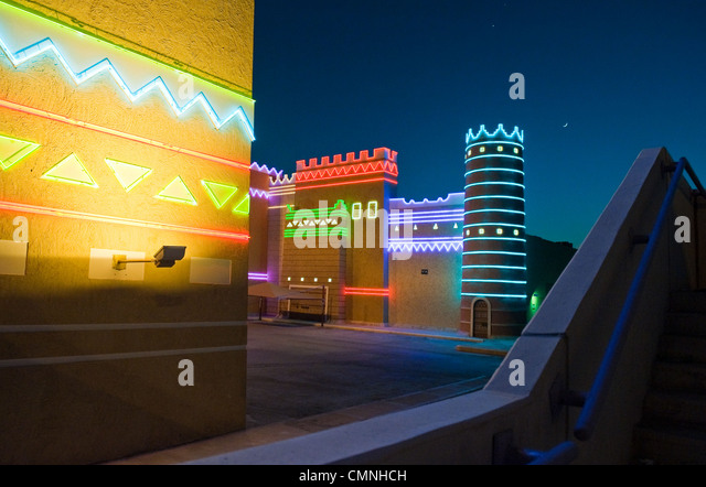Asia Saudi Arabia Riyadh, a castle for children to play - Stock Image