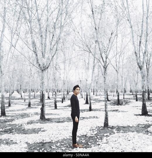 It's too cold outside for angels to fly - Stock Image