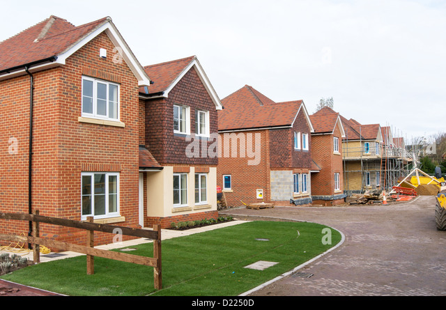 New build house uk stock photos new build house uk stock for New homes to build