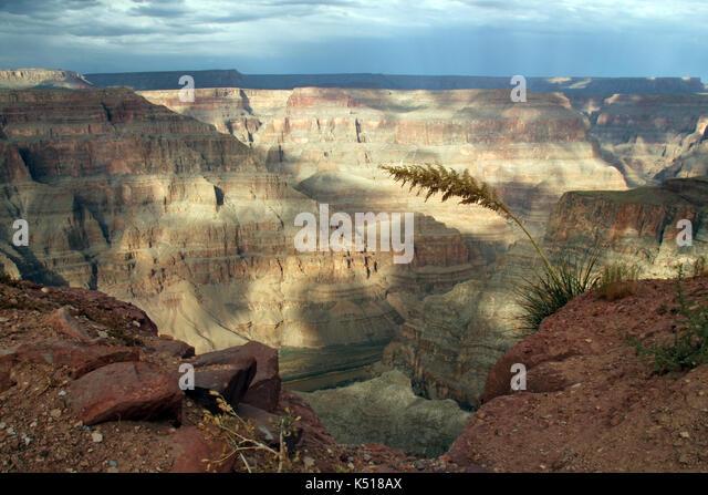 Grand Canyon West View, Arizona, USA - Stock Image