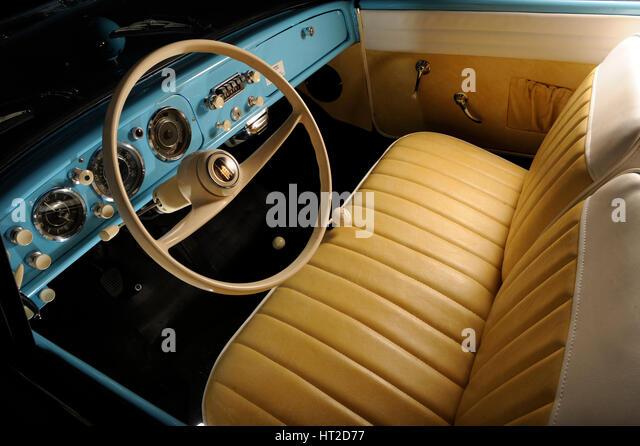 Amphicar 1966. Artist: Simon Clay. - Stock Image