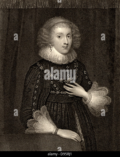 Mary Herbert,  Countess of Pembroke (born Mary Sidney - 1561-1621) English noblewoman, sister of the poet Philip - Stock Image