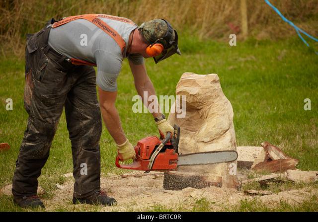 Green man carving wood stock photos