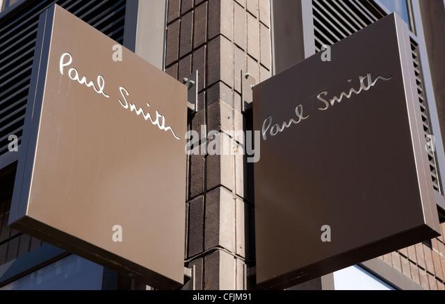 Paul Smith Shop London Stock Photos & Paul Smith Shop ...